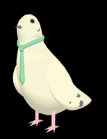 MMD Nageki - Pidgeon DL by pokemew12