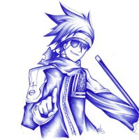 Lavi D. Gray Man by Chuvi