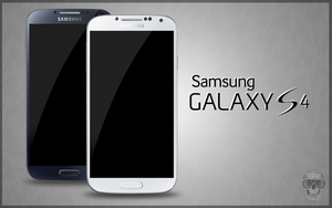Samsung Galaxy S4 PSD Black White by danishprakash