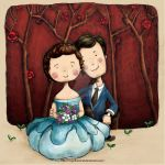 VU and THANH   BRIDE AND GROOM by migoibonmat