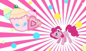 Pinkie Pie Wall by Evilarticfox