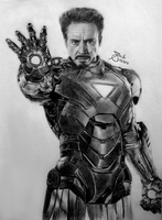 Iron man by SAibIRfan