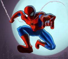 Spiderman by InAmberClad