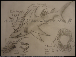 Acid Shark :read description for species details: by flannelRaptors