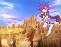 .Defeating the Monster. by lNeko-Hime