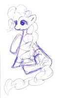 Pinkie Pie Sketch by orcakat4