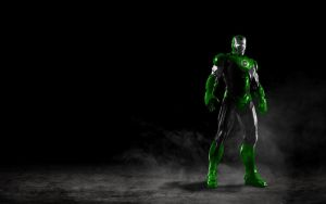 Iron Man VI Green Lantern by 666Darks