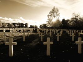 American Cemetery Cambridge by davepphotographer