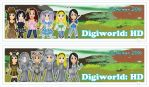 Digiworld HD Bookmarks by DannimonDesigns