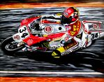 Kevin Schwantz by JosefVonDoom