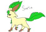 RD: Saria the Leafeon by XfangheartX