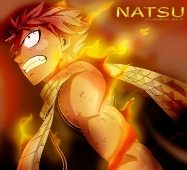 FLAME OF NATSU by H-lyrae22