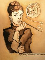 Steampunk Audrey Hepburn by spanielf