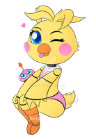 FNaF Gift: Toy Chica~ by Beckitty