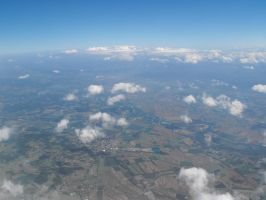 Valley of RHONE view by plane by A1Z2E3R