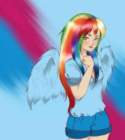 Rainbow dash by xXKefirXx