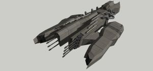 Mjolnir Heavy FIghter by spyderrock48