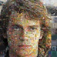 Anakin Skywalker Mosaic by Cornejo-Sanchez