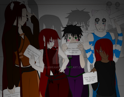 The Usual Suspects: File 2 by Cel-Dreams