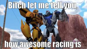 How Racing is awesome Bee by JackJack71
