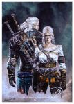 Witcher Wild Hunttext by Hollow-Moon-Art