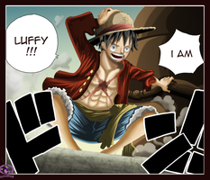 One Piece 601 luffy by Lord-Nadjib