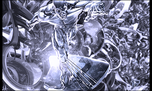 Silver surfer by Fishq