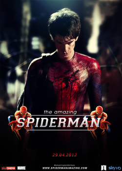 SPIDERMAN AMAZING by LuckGraphic