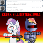 Sweetie Bot 49 - #Swag by Scramjet747