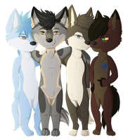 [C] Wolf Pack by Cliest