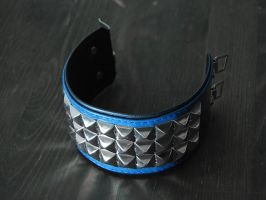 Blue Studded Bracelet by Me-Se