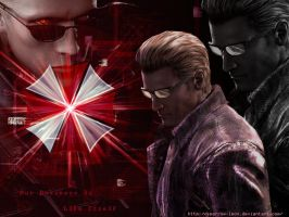 Albert Wesker by Sparrow-Leon