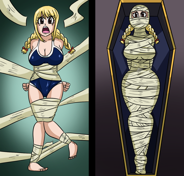 Lucy Swimsuit Mummification by 34Qucker