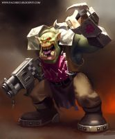 Painting Orks by Mancomb-Seepwood