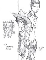 The Walking Dead: Rick and Carl by Tazartist19