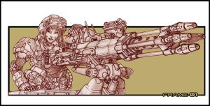 They Love Big Guns by frAme01