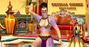 Excella Gionne    BELLY-DANCER    8-1-2015 by blw7920