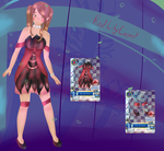 MRA: Red Lily Coord by Snow--drop