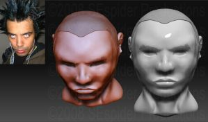 Robert_WIP__Zbrush by SEspider