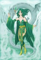 Rydia and the Mist Dragon by Steffel