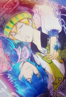 Noiz and Sly Blue - DMmd - by KiraiRei