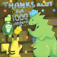 1000 Watchers by ditto9
