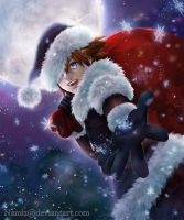 Kingdom Hearts - Dark Santa by Namiz