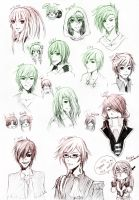 :TK: Doodlez of People Dood by Aikobo