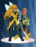 Magik and Pixie by Blindman-CB