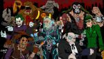 Batman Villains by ZZoMBiEXIII