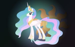 MLP - Princess Celestia by JoeHellser