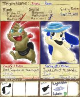 PMD App. Team Treble'n'Bass by lemondragon19