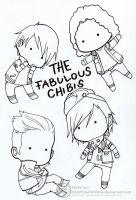 The Fabulous Chibis by Susutastic