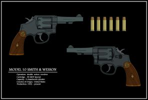 Smith and Wesson Model 10 by AeroRat